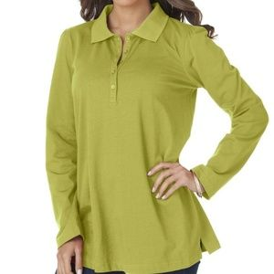 Women's Roaman's polo long sleeve shirt 14/16